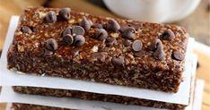 Σοκολατένιες μπάρες δημητριακών σε 5'!