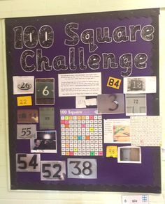 ''100 Square Challenge!'' In Reception the children have been working hard to…