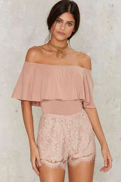 What a Softie Lace Shorts | Shop Clothes at Nasty Gal!