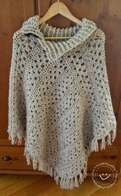 641 Besten Ponchos Wraps Bilder Auf Pinterest Crochet Clothes