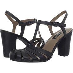 4138583cb02c Ecco omak closed toe sandal black