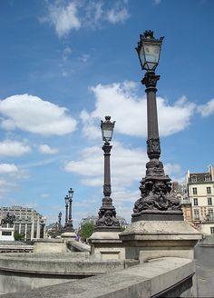Paris, Pont Neuf Lamps