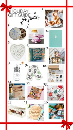 I'm sharing my Holiday Gift Guide for Foodies today. Everything from coffee to curry subscriptions, with recipe books, baking dishes and gourmet fudge. There's a wide variety of gifts, so I hope you'll find the perfect gift for the foodie in your life! #holidaygiftguide #giftguide #foodiegiftguide #christmasgifts #giftideas #foodiegifts Christmas Gift List, Holiday Gift Guide, Christmas And New Year, Holiday Gifts, Christmas Crafts, Holiday Recipes, Christmas Ideas, Creative Homemade Gifts, Diy Gifts