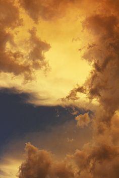 Skies by Maxfield Parrish