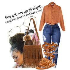 Art Walk on Wednesday....This Is So Ugly  by shamyadanyel on Polyvore…