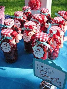 "Photo 17 of 22: Birthday ""Cherry Pie Picnic Birthday Party"""