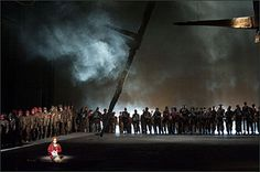 """Oper """"DieTrojaner"""" - Fotos und Spielpläne"""