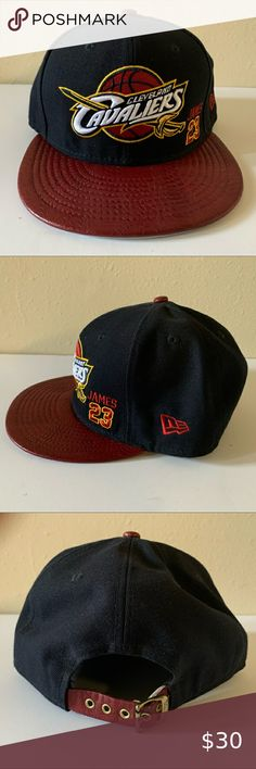New Era Cleveland Cavaliers snapback hat For Jordan 11 Midnight Navy