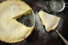 Mom's Sicilian Ricotta Pie Sicilian Recipes, Sicilian Food, Ricotta Pie, Course Meal, Challah, Pie Plate, Cannoli, Confectioners Sugar, Pie Dish