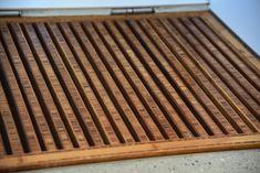 Bambusgulv og møbelplater i flotte kombinasjoner // Bamboo flooring and panels throughout the house Cork Flooring, Floor Design, Hardwood Floors, Bamboo, Cool Stuff, House, Inspirational, Wood Floor Tiles, Wood Flooring