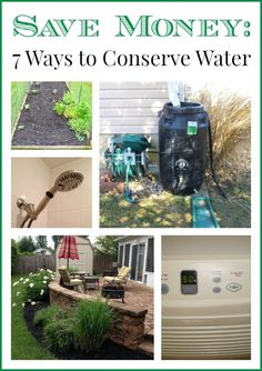7 Tips to Conserve Water and Save Money | FamilyBalanceSheet.org