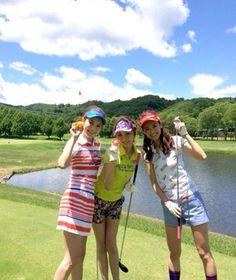 女子ゴルファー100人集合! ルコックゴルフ×AneCan『LOVE!GOLFレディスコンペ』 #森絵里香 #押切もえ #葛岡碧 #erikamori #moeoshikiri #midorikuzuoka #anecan #japanesemodel #golf