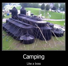 Camping Like A Boss http://ift.tt/2j0oadB