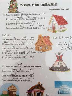 Une petite chanson de Geneviève Barret qui ira pile poil avec le projet d'aménagement de la cabane dans la classe pour la rentrée..  - IMG_0772-1.m4v Et une deuxième chanson de cabane de Didier Lester chantée par Lucie, trouvée au hasard de mes recherches...