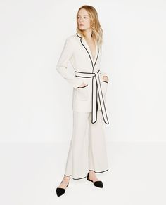 BELTED BLAZER-Collection-WOMAN-NEW IN | ZARA United States