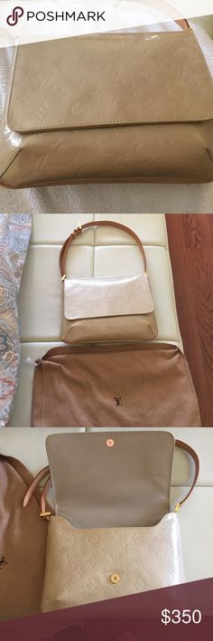 Louis Vuitton authentic bag Leather interior . 10x8 . Louis Vuitton Bags Shoulder Bags