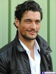 David Gandy= smile reference