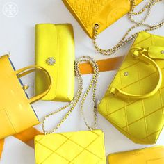 Hello, Yellow: Celebrate the sunny hue in everything from Robinson totes to Fleming bags
