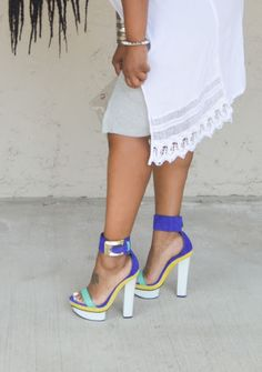 Outfit: High Splits and Platforms | FASHION PAD.........Style, Life, and Faith