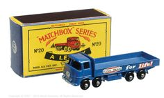 The South West Matchbox Collection | Regular Wheels | Vectis Toy Auctions Matchbox Regular Wheels No.20B ERF Stake Truck