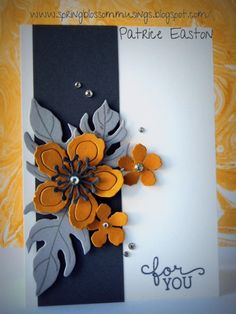 Spring Blossom Musings: Just Add Ink #307 - Just Add a Colour Combo