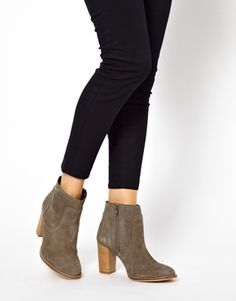 Image 3 of ASOS ABIDE Leather Ankle Boots