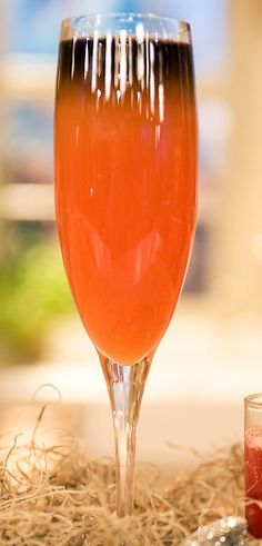 How To Make The Perfect Black And Orange Halloween Cocktail