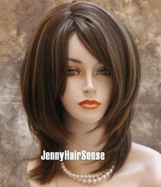 Sexy-Delightful-Straight-Layered-NEW-Chestnut-Brown-mix-WIG-TRDD-8-12-24BHL