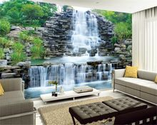 Beibehang Rockery waterfall background 3d wallpaper photo home decoration murals living room bedroom wallpaper for walls 3 d //Price: $US $15.54 & FREE Shipping //     #festive #party #birthdayparty #christmas #wedding decoration #event