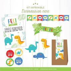 TEMÁTICA DINOSAURIOS!!!! 🦖 ya esta disponible en la tienda online lorenzadisno.com! Tambien la podes pedir para nena! 🦕 . Si preferis todo…