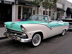 1955 Ford Pappas bil This dream car could be yours if you just follow these steps #VintageCars