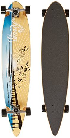 59f32cb56a Krown Wood Sunset Complete Longboard Skateboard Krown http   www.amazon.com