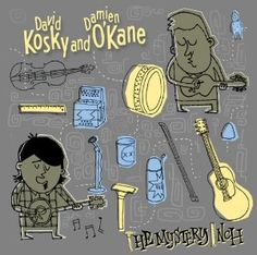 'Mystery Inch' is the exciting instrumental album from Damien O'Kane and David Kosky  'Banjos and guitars and other plinky plonky bangy things - Irish music with a twist!.'
