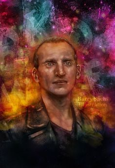 Doctor Who Christopher Eccleston 11x17 by BarrySachsBarryGood, $20.00 (I've met this illustrator in person at the Zenkaikon 2014 and his work is amazing!)