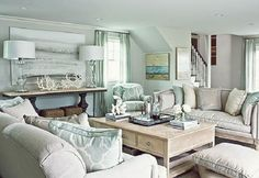 Image result for Hampton style lounge rooms