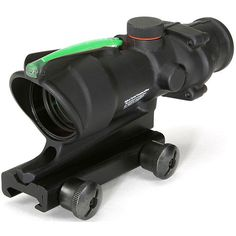 Trijicon 4x32 Illuminated Green Chevron .223 Acog Reticle