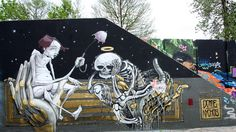 Dome & Nychos netherlands eindhoven graffiti