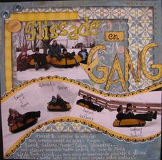 Glissade en Gang/Snow tubing - Scrapjazz.com