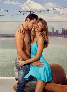 Gisele Bundchen and Sean O'Pry for Colcci Spring Summer 2016