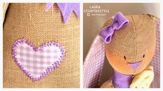 Hand made kids: Miss Lavender Poppy
