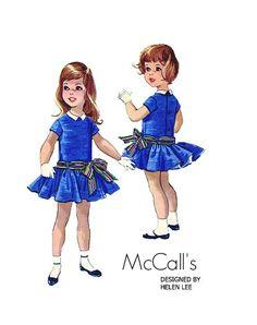 Vintage 1950s McCalls 4904 Designer Helen by PinkPolkaDotButton