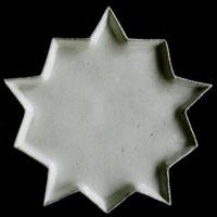 love this star place setting - dinner plate -Astier de Villatte - Catalogue - Etoile