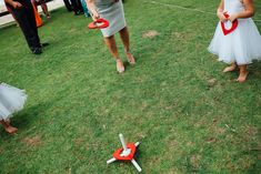 Love heart ring toss for your little guests!