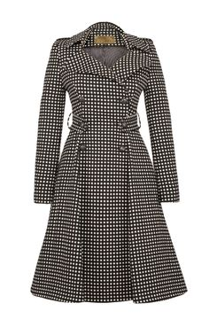 Lafayette Coat Black Dots - Lena Hoschek Online Shop