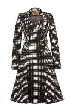 Lafayette Coat Black Dots - Lena Hoschek Online Shop
