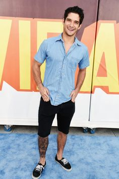 Pin for Later: Stars Stun on the MTV Movie Awards Red Carpet Tyler Posey