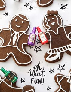 Chocolate Gingerbread Folk Cookie Recipe
