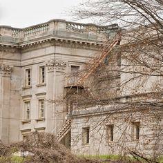 Abandoned Lynnewood Hall in Elkin's Park, PA.