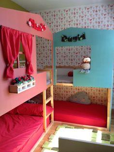 1000 images about cama litera on pinterest ikea kura - Ikea cama infantil ...