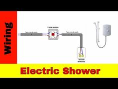 How to wire an electric shower UK - YouTube